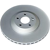 EBR1681EVC Evolution Geomet Coated High Carbon Rear Driver Or Passenger Side Brake Disc