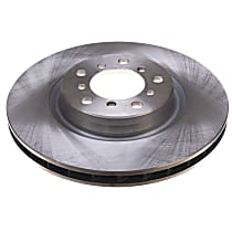 EBR664 Autospecialty By Powerstop Front Driver or Passenger Side Brake Disc