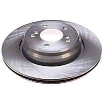 EBR666 Autospecialty By Powerstop Rear Driver or Passenger Side Brake Disc