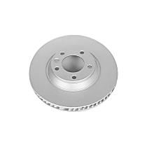 Front Left Genuine Geomet® Coated Rotor