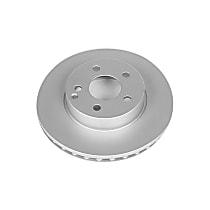 Power Stop® EBR876EVC Front Genuine Geomet® Coated Rotor