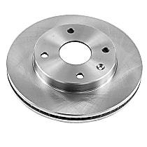 Front OE Stock Replacement Brake Rotor