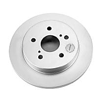Power Stop® JBR1738EVC Rear Genuine Geomet® Coated Rotor