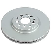 JBR1766EVC Evolution Geomet Coated High Carbon Front Driver Or Passenger Side Brake Disc