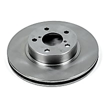 Power Stop® JBR358 Front OE Stock Replacement Brake Rotor
