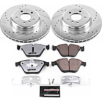 K6020-26 Front Z26 Muscle Carbon-Fiber Ceramic Brake Pad and Drilled & Slotted Rotor Kit