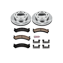 Power Stop® KOE2020 Front OE Stock Replacement Low-Dust Ceramic Brake Pad and Rotor Kit