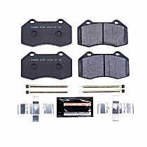 Power Stop® PSA-1379B Front Track Day High-Performance Brake Pads