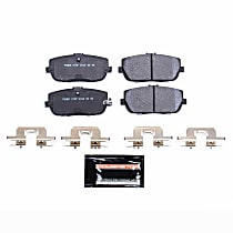 Power Stop® PSA-1180 Rear Track Day High-Performance Brake Pads