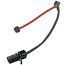 Front OR Front Left OR Front Right Euro-Stop Electronic Brake Wear Sensors