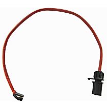 Brake Pad Sensor - Direct Fit Sold individually Front Driver Or Passenger Side