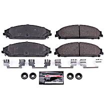 Power Stop Z17 Evolution Plus Disc Brake Pads for 2008-2014 Dodge Avenger fi