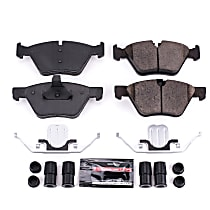 Z23-1061 Front Z23 Daily Carbon-Fiber Ceramic Brake Pads with Stainless-Steel Hardware Kit