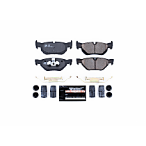 Z23-1171 Rear Z23 Daily Carbon-Fiber Ceramic Brake Pads with Stainless-Steel Hardware Kit