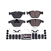 Z23-1260 Front Z23 Daily Carbon-Fiber Ceramic Brake Pads with Stainless-Steel Hardware Kit