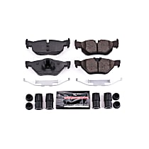 Z23-1267 Rear Z23 Daily Carbon-Fiber Ceramic Brake Pads with Stainless-Steel Hardware Kit