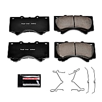 Z23-1303 Front Z23 Daily Carbon-Fiber Ceramic Brake Pads with Stainless-Steel Hardware Kit