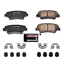 Rear Driver And Passenger Side Brake Pad Set