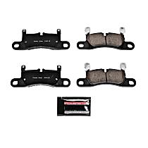 SCD1453 REAR Ceramic Brake Pads Fits  11 Porsche Cayenne