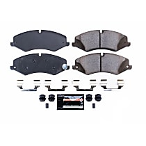 Z23-1479 Front Z23 Daily Carbon-Fiber Ceramic Brake Pads with Stainless-Steel Hardware Kit