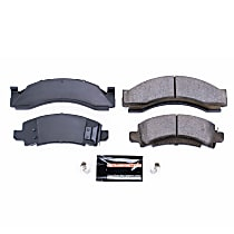 Z23-149 Front OR Rear Z23 Daily Carbon-Fiber Ceramic Brake Pads with Stainless-Steel Hardware Kit