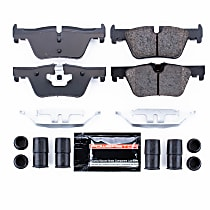 Z23-1613 Rear Z23 Daily Carbon-Fiber Ceramic Brake Pads with Stainless-Steel Hardware Kit