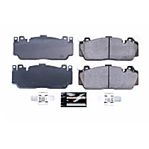 Z23-1648 Front Z23 Daily Carbon-Fiber Ceramic Brake Pads with Stainless-Steel Hardware Kit