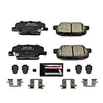 Z23 Evolution Sport Carbon-Fiber Rear Brake Pad Set