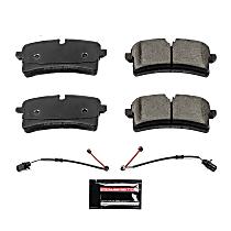 Z23-1785 Rear Z23 Daily Carbon-Fiber Ceramic Brake Pads with Stainless-Steel Hardware Kit