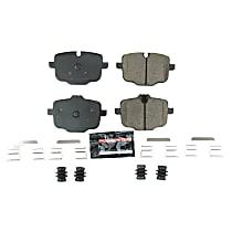 Z23-1850 Z23 Evolution Sport Rear Brake Pad Set