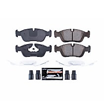 Z23-558 Front Z23 Daily Carbon-Fiber Ceramic Brake Pads with Stainless-Steel Hardware Kit