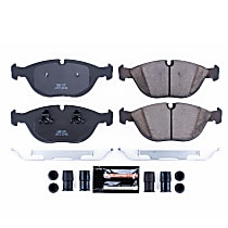Z23-682 Front Z23 Daily Carbon-Fiber Ceramic Brake Pads with Stainless-Steel Hardware Kit