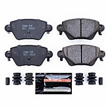 Z23-911 Rear Z23 Daily Carbon-Fiber Ceramic Brake Pads with Stainless-Steel Hardware Kit