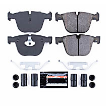 Z23-919 Rear Z23 Daily Carbon-Fiber Ceramic Brake Pads with Stainless-Steel Hardware Kit