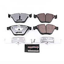 Z26-1597 Front Z26 Muscle Carbon-Fiber Ceramic Brake Pads with Stainless-Steel Hardware Kit