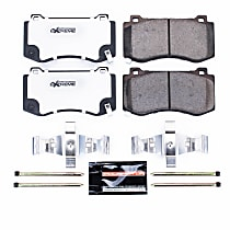 Front Driver And Passenger Side Brake Pad Set