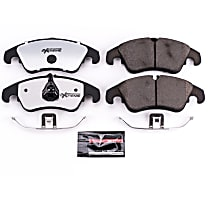 Z26-1322 Front Z26 Muscle Carbon-Fiber Ceramic Brake Pads with Stainless-Steel Hardware Kit
