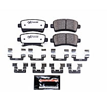 Z26-1430 Rear Z26 Muscle Carbon-Fiber Ceramic Brake Pads with Stainless-Steel Hardware Kit