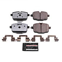 Z26-1469 Rear Z26 Muscle Carbon-Fiber Ceramic Brake Pads with Stainless-Steel Hardware Kit
