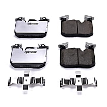 Z26-1609B Front Z26 Muscle Carbon-Fiber Ceramic Brake Pads with Stainless-Steel Hardware Kit