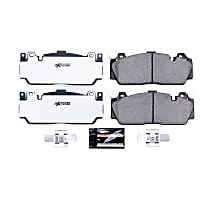 Z26-1648 Front Z26 Muscle Carbon-Fiber Ceramic Brake Pads with Stainless-Steel Hardware Kit