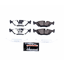 Z26-279 Rear Z26 Muscle Carbon-Fiber Ceramic Brake Pads with Stainless-Steel Hardware Kit