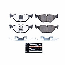 Z26-396 Rear Z26 Muscle Carbon-Fiber Ceramic Brake Pads with Stainless-Steel Hardware Kit