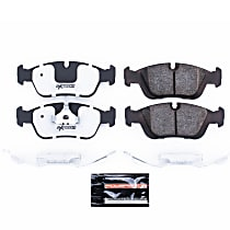 Z26-558 Front Z26 Muscle Carbon-Fiber Ceramic Brake Pads with Stainless-Steel Hardware Kit