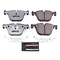 Z26-919 Rear Z26 Muscle Carbon-Fiber Ceramic Brake Pads with Stainless-Steel Hardware Kit