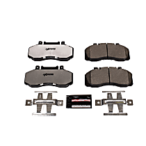 Z36-1062 Front OR Rear Z36 Truck Carbon-Fiber Ceramic Brake Pads with Stainless-Steel Hardware Kit