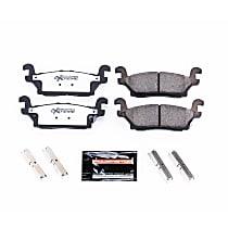 Z36-1120 Rear Z36 Truck Carbon-Fiber Ceramic Brake Pads with Stainless-Steel Hardware Kit