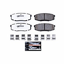 Z36-1304 Rear Z36 Truck Carbon-Fiber Ceramic Brake Pads with Stainless-Steel Hardware Kit