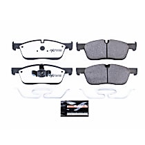 Power Stop® Z36-1838 Front Z36 Truck Carbon-Fiber Ceramic Brake Pads with Stainless-Steel Hardware Kit