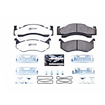 Z36-269 Front Z36 Truck Carbon-Fiber Ceramic Brake Pads with Stainless-Steel Hardware Kit